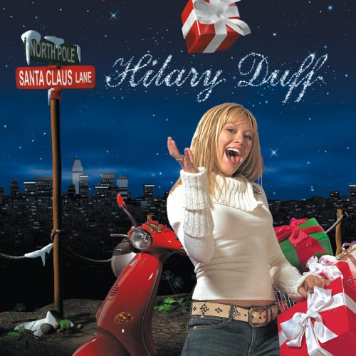 Hilary Duff - I Heard Santa On The Radio Lyrics