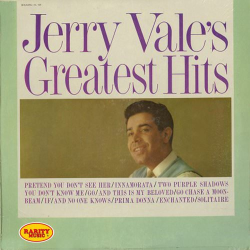 Jerry Vale - Pretend You Don't See Her Lyrics