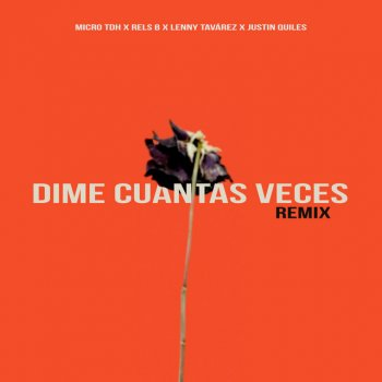 Micro TDH Feat. Rels B, Lenny Tavárez & Justin Quiles - Dime Cuantas Veces (Remix) [Feat. Justin Quiles] Lyrics