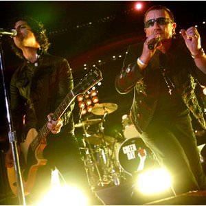 Green Day & U2 - The Saints Are Coming Lyrics